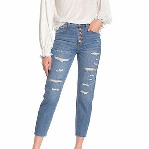 Free People Soak Up The Sun High Rise Jeans